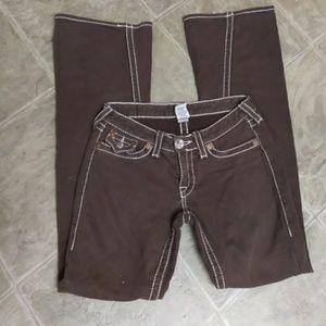 "True Religion Brand Jeans ""Joey Big T"" Pants 29"
